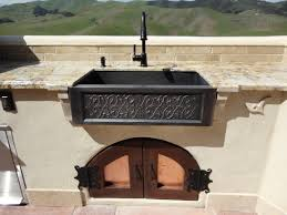 outdoor kitchen faucet creative outdoor kitchen sink amazing home design luxury with