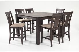 bobs furniture kitchen table set summit 54 x 54 7 counter set bob s discount furniture