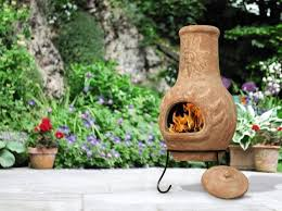 Ceramic Fire Pit Chimney - stylish yellow clay fire pit chimney enjoy a good conversation