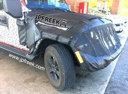 jl jeep jl wrangler exclusive spy shots jpfreek adventure magazine