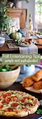 fall entertaining simple and elegant fall dinner free food and