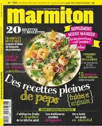 cuisiner le magazine en 5 ans le magazine marmiton est devenu leader des magazines