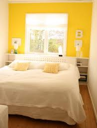 Black And White Bedroom With Yellow Accents Cool Black And White Of Minimalist Bedroom Design In Small Room