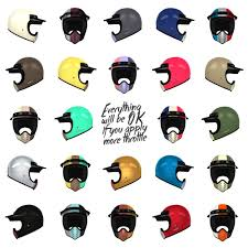 motocross helmet stickers the smoothest way design and get custom paint on your new