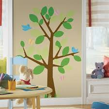 Dotted Garden Tree Wall Decals For Kids Rooms Removable Tree - Kids rooms decals