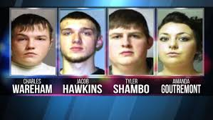 amanda hawkins four charged in meth bust