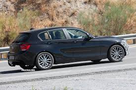 kereta bmw 5 series bmw 1 series lci facelift sighted again on test