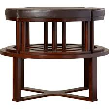 Coffee Table With Nesting Stools - sierra coffee table with four ottoman wedgeools round cocktail