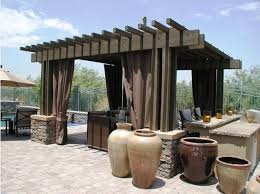 Outdoor Shades For Patio by Shade For The U0026 Cold Seasons Mediterranean Patio