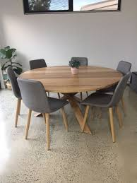 custom round dining tables custom round dining table dining tables gumtree australia casey
