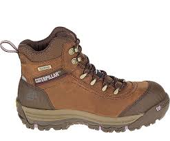 caterpillar womens boots australia ally waterproof composite toe work boot brown cat footwear