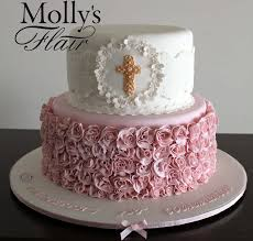 occasion cakes special occasion cake lace and roses 1st communion cake by