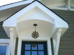 Door Awning Plans Front Porch Overhang Cost Build Over Door Ideas Coloring Pages
