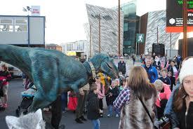 belfast halloween monster mash dinosaur hire northern ireland
