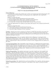 Internship Covering Letter by Professional Development With Civil And Environmental Engineering