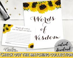 bridal shower words of wisdom cele mai bune 25 de idei despre sunflower bridal showers pe