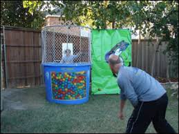 dunk booth rental all around amusements pit dunk tank rental