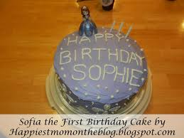 happiest mom on the blog sofia the first birthday cake