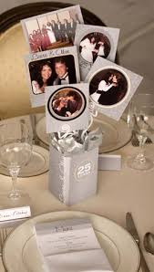 25th anniversary party ideas 25th anniversary centerpiece kits easily create stunning photo