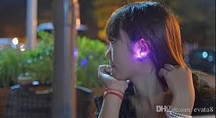 light up earring studs quality light up earring studs led multi colors earrings