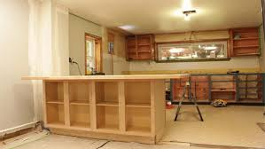 how to build a kitchen island using wall cabinets diy kitchen island knock it the live well network