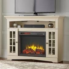 Electric Media Fireplace Reddon Corner Convertible Electric Media Fireplace White Aiden