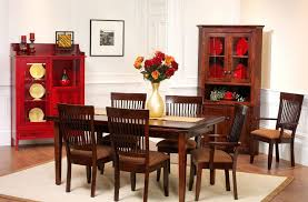 Shaker Dining Room Chairs Monmouth Shaker Dining Set Countryside Amish Furniture