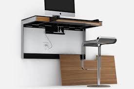 Wall Mounted Desk System Bdi Made A Wall Mounted Desk That Can Fit More Than A Single