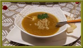cuisiner le poivron vert velouté de potiron poivron vert et tomates oh la gourmande