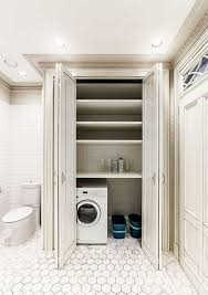 Laundry Closet Door Laundry Room Shelves Keep Everything Organized And Within Reach