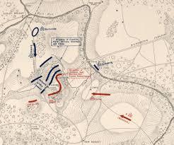 Run Map Battle Of First Bull Run 2pm Detailed View Civil War Trust