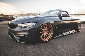 bmw i8 slammed bmw m4 f83 gets the brushed copper avant garde f521 wheels u2013 need