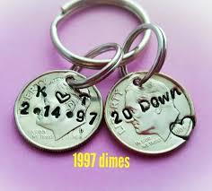 20th anniversary gift 20th anniversary gift idea 20 year wedding anniversary keychain