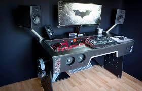Pc Desk Ideas Gorgeous Custom Computer Desk Ideas Catchy Interior Design Within
