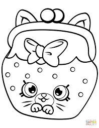 fish flake jake petkins shopkin coloring page free printable