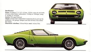 lamborghini miura 1966 smcars net car blueprints forum