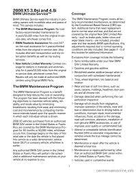 bmw x5 2008 e70 service and warranty information