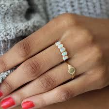 signet wedding ring 14k signet ring lumo