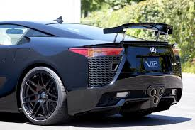 lfa lexus black lexus lfa with 20inch concave forgestar f14 wheels