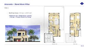 villas at regal palms floor plans floor plans villanova dubai land by dubai properties
