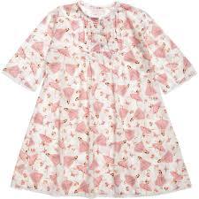 craft pink u0027ballerina u0027 cotton nightdress childrensalon