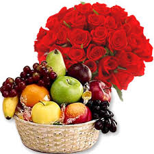 fruits flowers send flowers to india send teachers day flowers and fruits to india