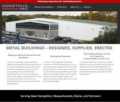 metal buildings u2013 designed supplied erected construx inc