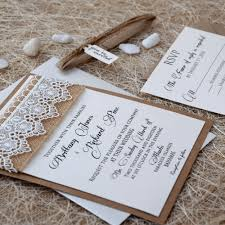 lace wedding invitations lace wedding invitations burlap and lace marriage invitations