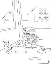 little superhero coloring pages hellokids com