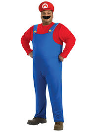 plus size superhero halloween costumes plus size mario costume