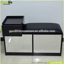 shoe storage bench seat with mirror view shoe storage bench seat