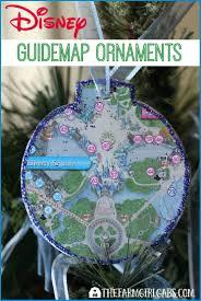 disney guidemap ornaments disney crafts pinterest ornament