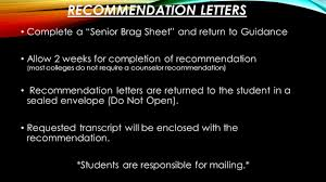 Guidance Counselor Brag Sheet Senior Post Secondary Plans Agenda Mrs Dunn Welcome Mrs