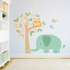 Owl Nursery Wall Decals by Elephant And Owl Printed Wall Decal